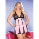 Lace & Net Babydoll Queen Size 96389
