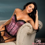 Tapestry Lace-Up Corset 26956