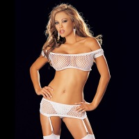 Fishnet 4 Piece Set 96897
