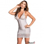 Striped Grey Chemise MA 7252